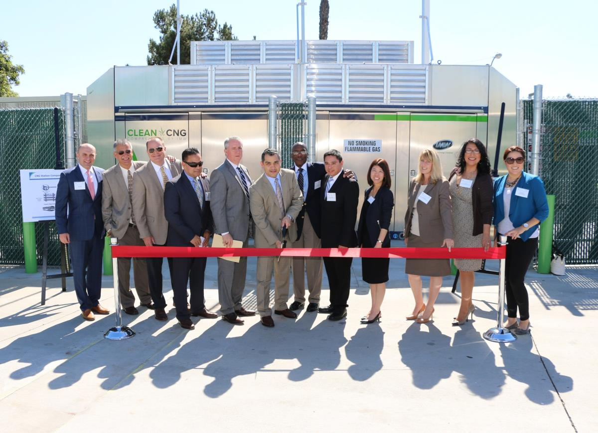 Ribbon Cutting Ceremony - CNG Station(3)