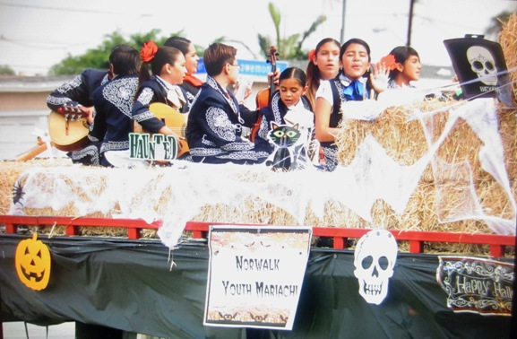 Mariachi Halloween Parade Float