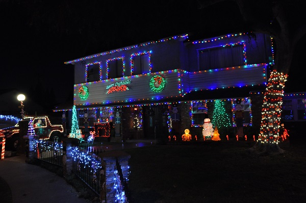 2017 Holiday Home Decor Contest 1st Place