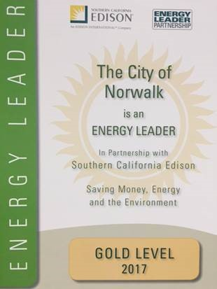 Energy Leader - Gold Level 2017