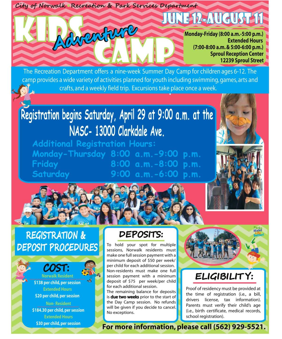 2017 Day Camp Flyer