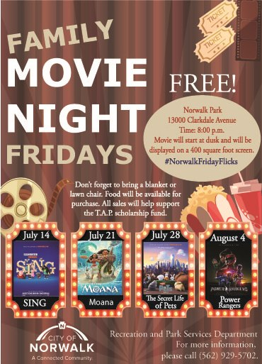 Movie Nights Flyer 2017