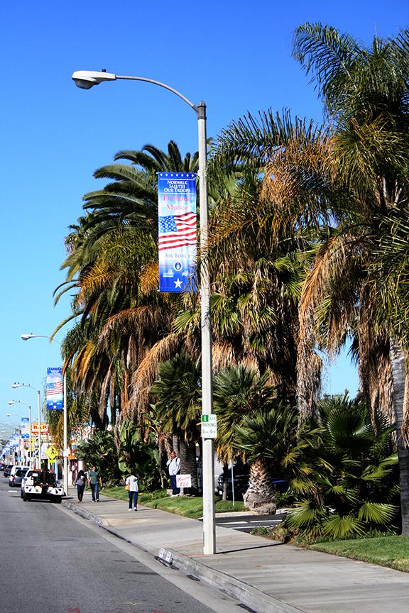 Apply For A Hometown Hero Banner City Of Norwalk CA - Norwalk front street car show 2018