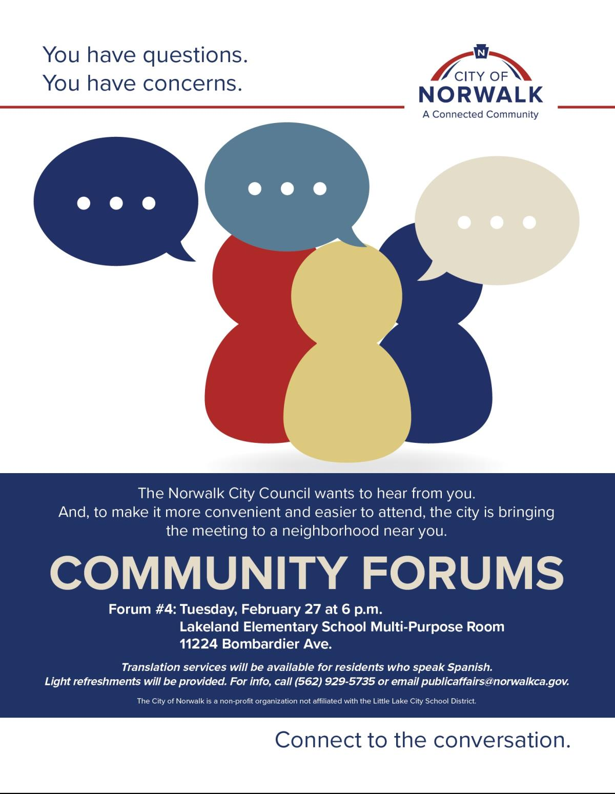 Community Forum-Lakeland Elementary