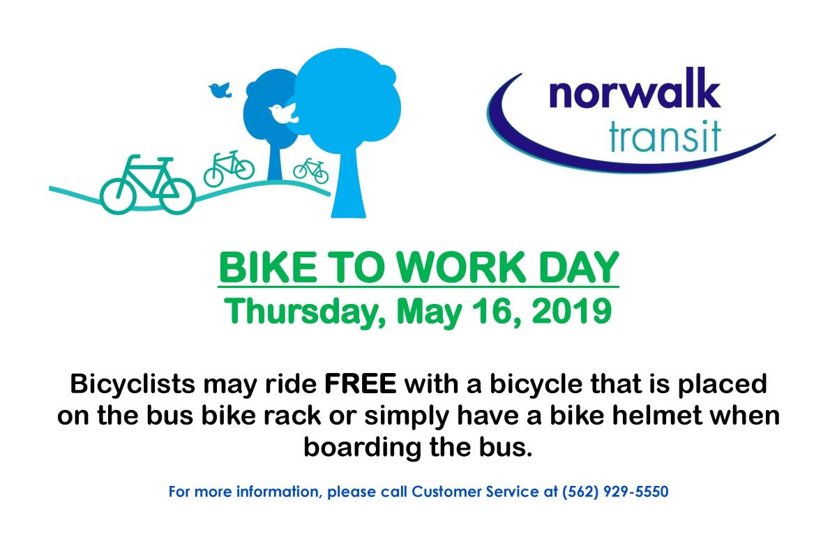 Bike to Work Day May 2019