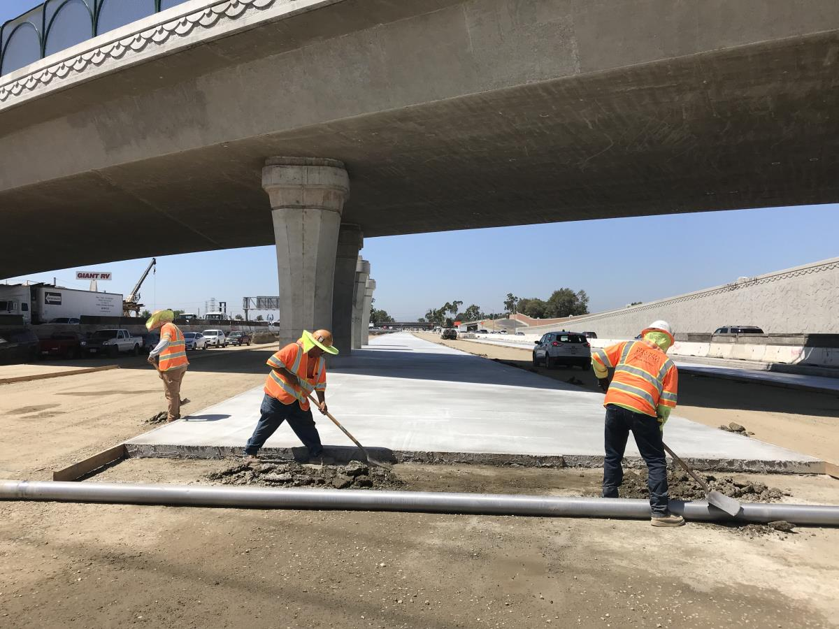 I-5 Freeway Expansion Project Construction | City of Norwalk, CA