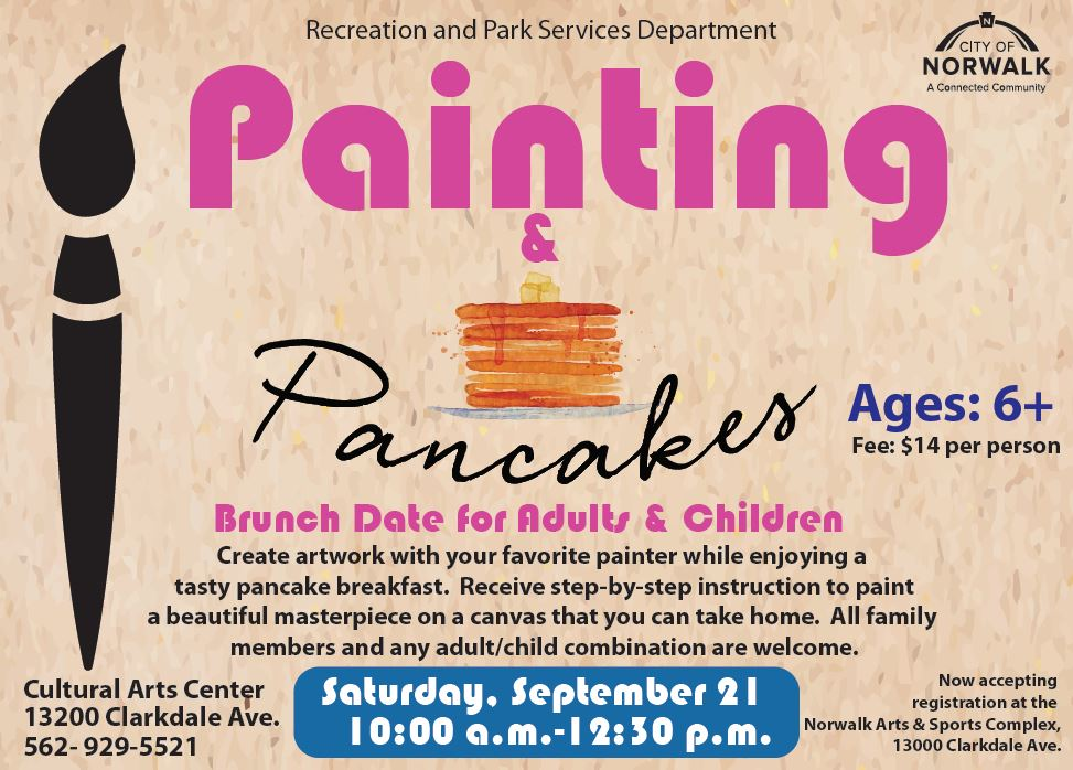 Painting and Pancakes