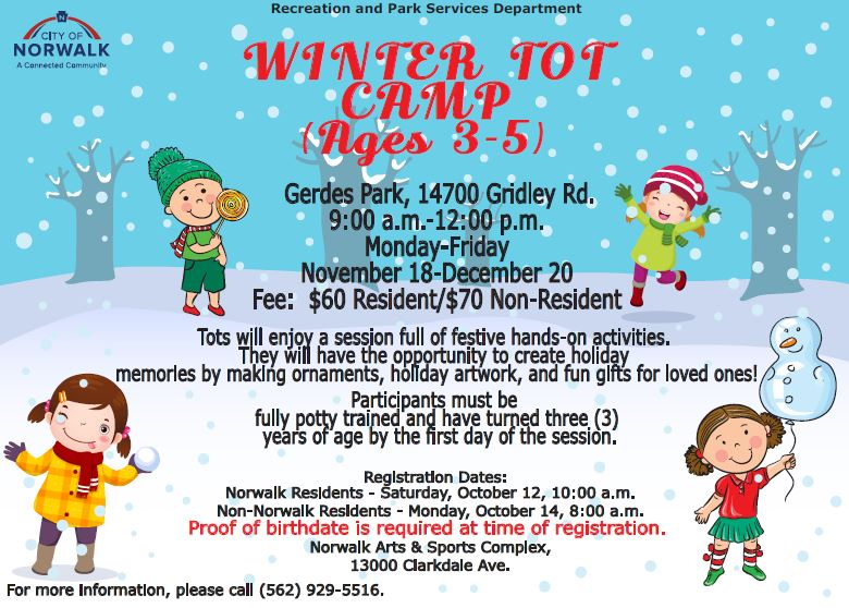 Winter Tot Camp