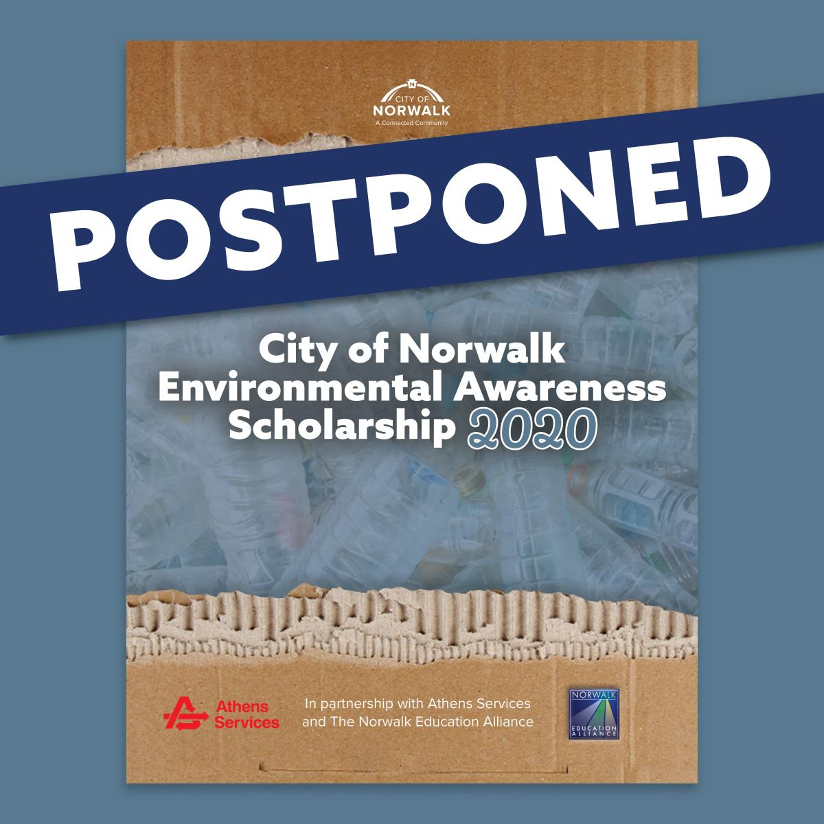 City of Norwalk Environmental Scholarship Postponed
