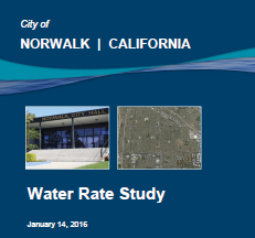 2016 Water Rate Study Report