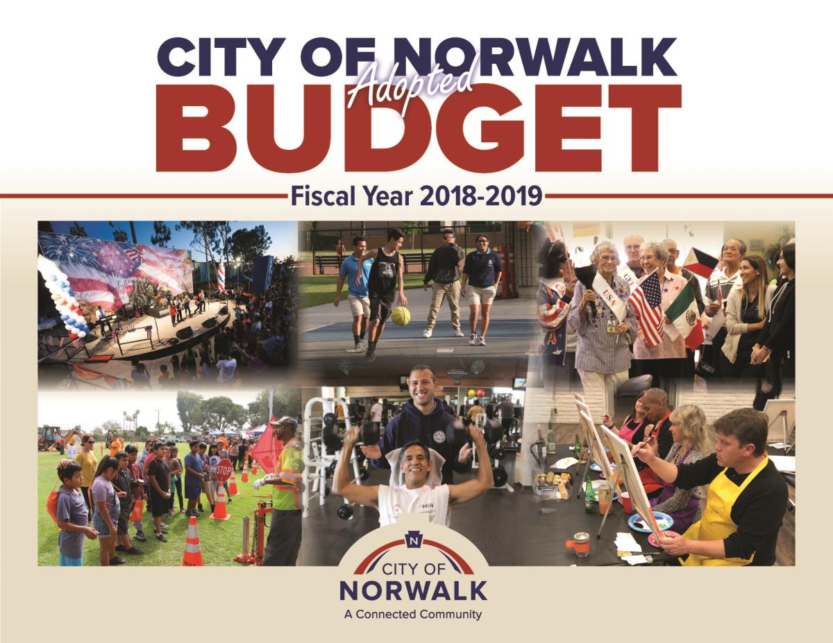 FY 18-19 Adopted Budget Cover