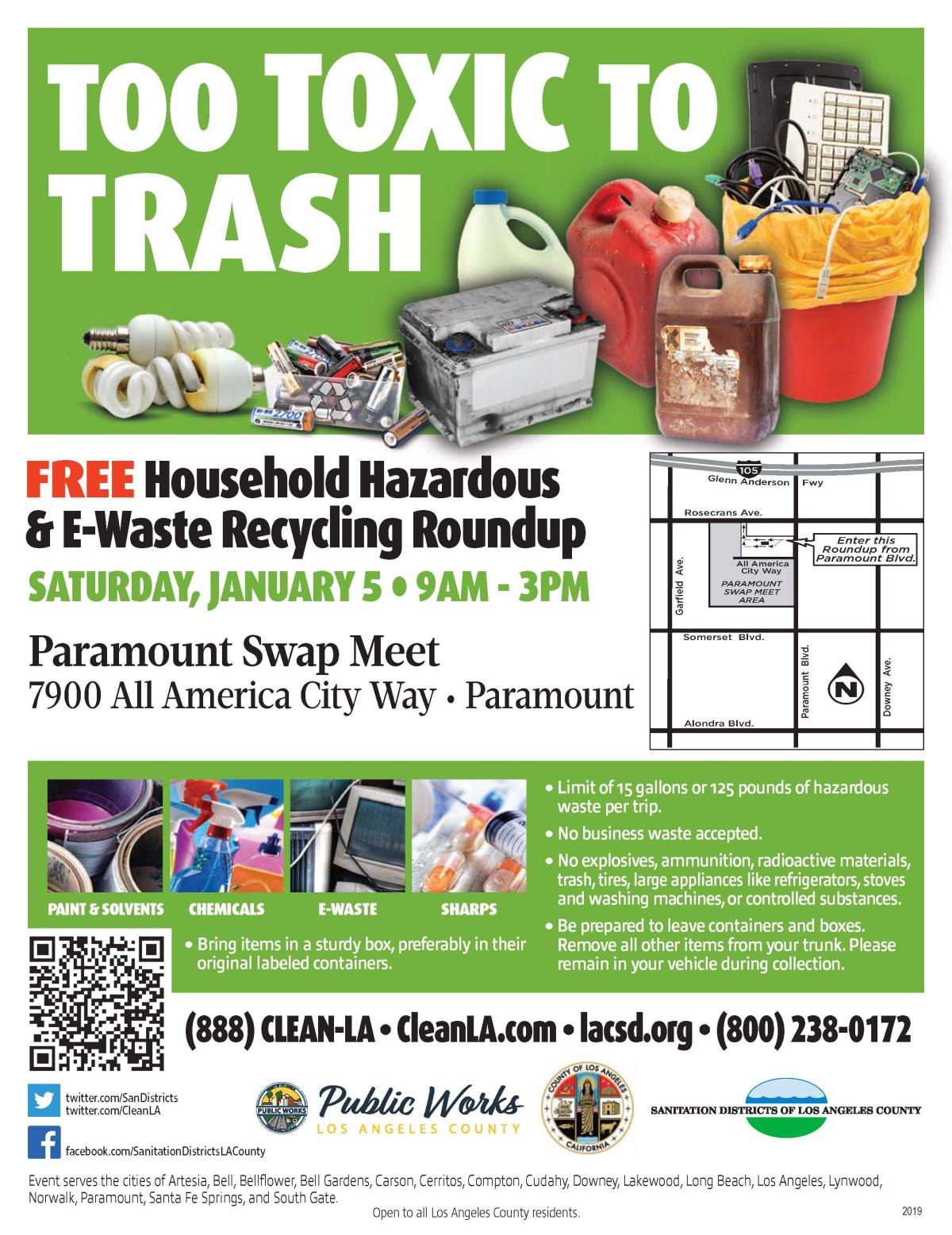hhw household hazardous waste city of norwalk ca