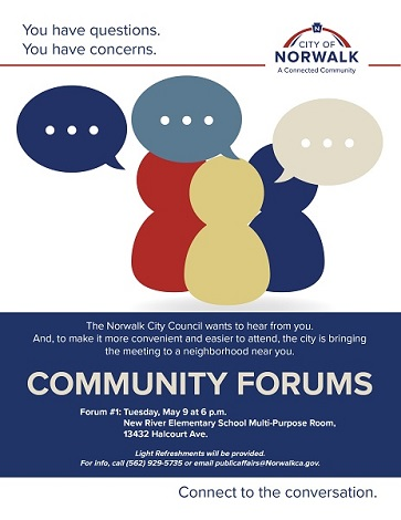 Community Forum May 9